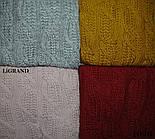 Женский вязаный свитер с шерстью с воротником стойкой vN3554, фото 4