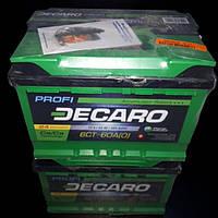 Аккумулятор 6СТ 60Ah 12v DECARO PROFI (242x175x175) EN600 DECARO