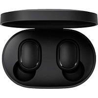 Наушники гарнитура XIAOMI Mi True Wireless Earbuds Basic TWSEJ04LS Black (ZBW4480GL)