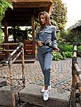 Женский костюм милитари с рубашкой и брюками vN3586, фото 4