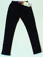 Стильні джинси на флісі на дівчинку ріст 134.140.146.152.158.164 см см