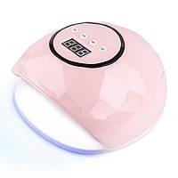 Лампа для ногтей Sun F5 Розоая, 72 Вт