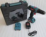Шуруповерт аккумуляторный Spektr SCD 18/2 (DFR патрон), фото 4