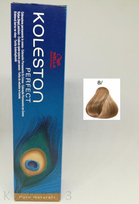 Крем-краска Wella Professionals Koleston Perfect 8/, 60 мл