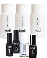 Стартовый набор для покрытия ногтей гель-лаком Kodi