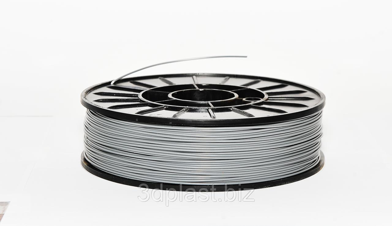 ЭКО CoPET (PETg)  пластик для 3D печати,1.75 мм 0.75 кг, серый