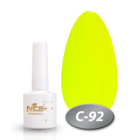 Гель-лак Nice for you Professional 8,5 ml №С92