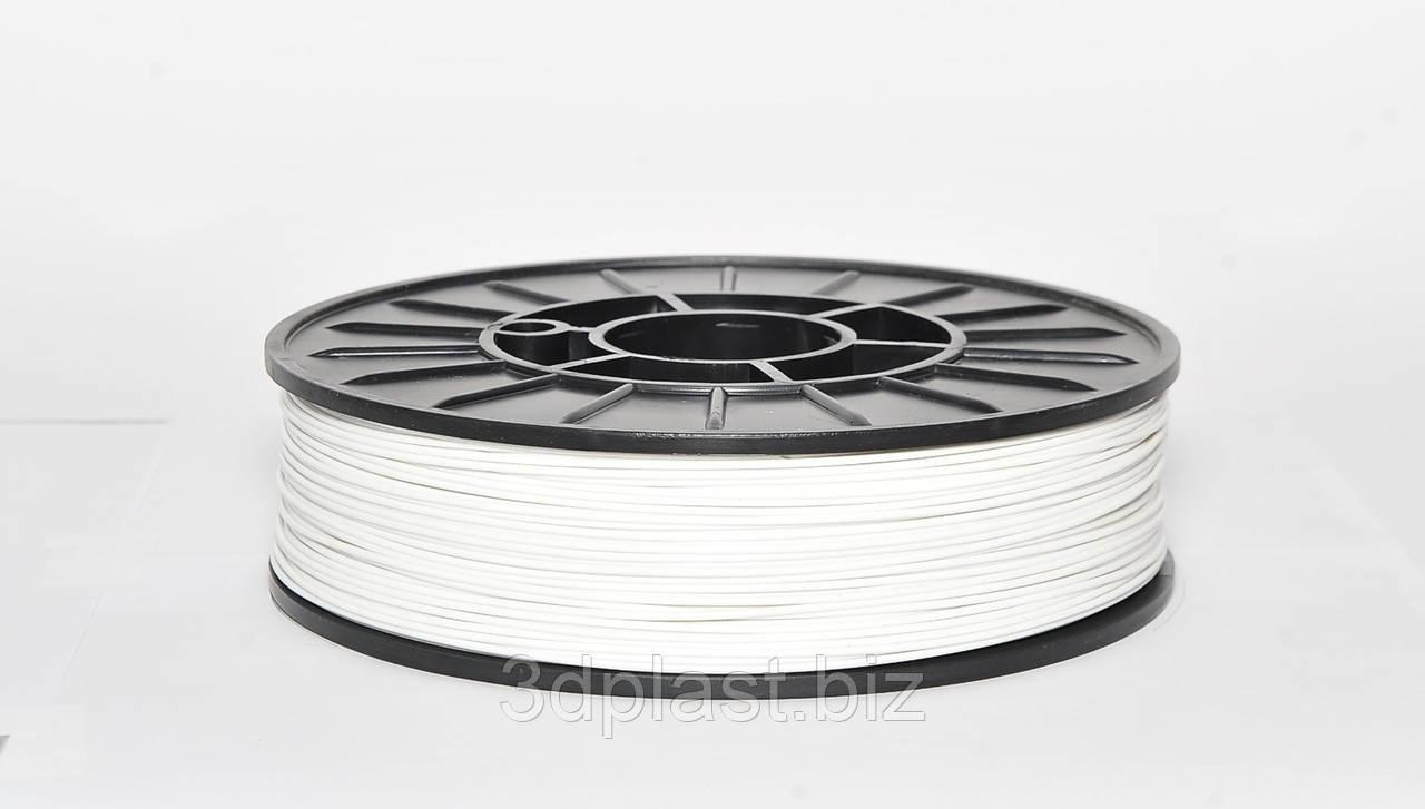 ЭКО CoPET (PETg)  пластик для 3D печати,1.75 мм 0.75 кг, белый