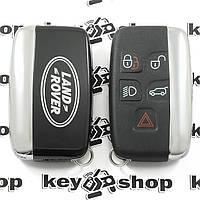 Оригинальный смарт ключ Land-Rover (Лэнд-Ровер)  5 кнопок, PCF 7953, HITAG PRO, (433/315MHZ)
