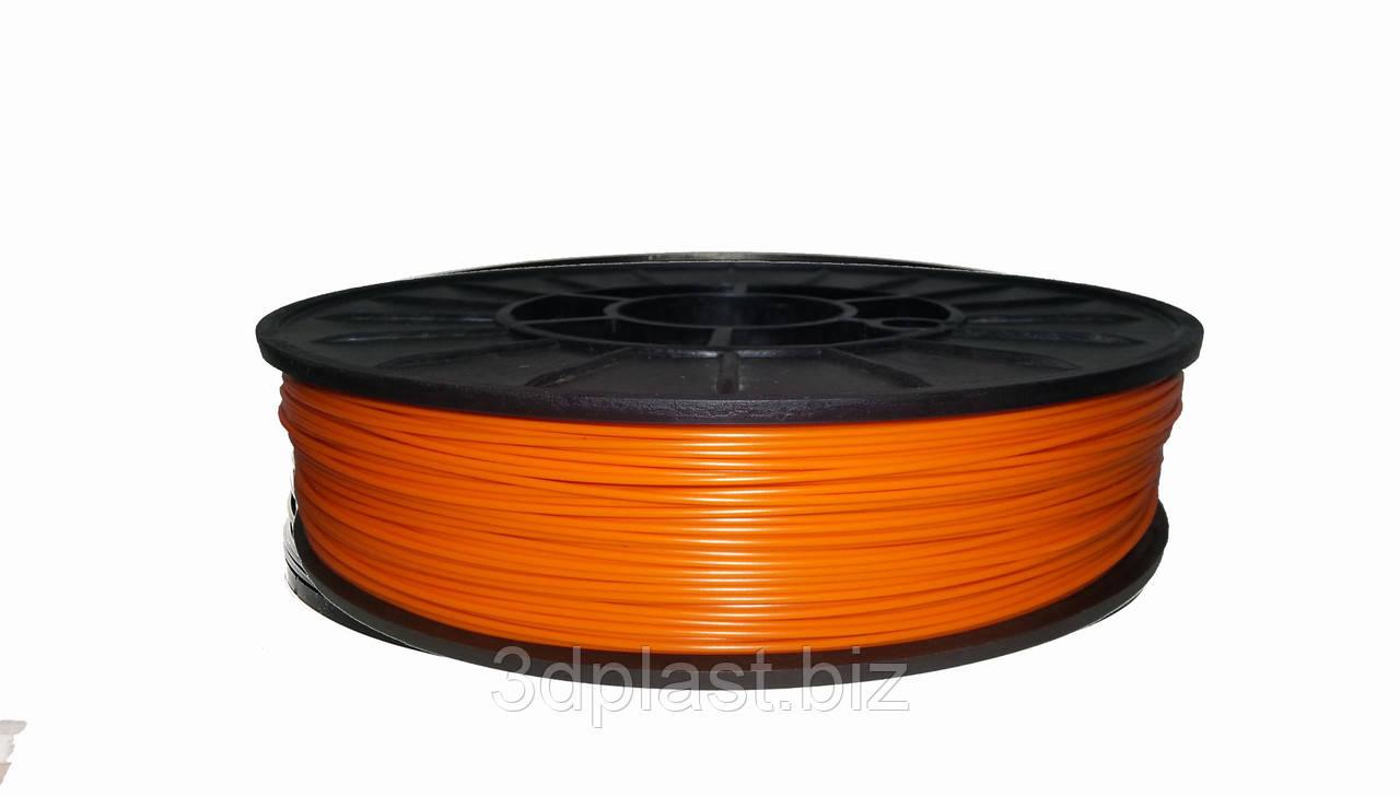 ЭКО CoPET (PETg)  пластик для 3D печати,1.75 мм 0.75 кг, оранжевый