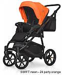 Коляска Riko Swift Neon 24 Party Orange, фото 4