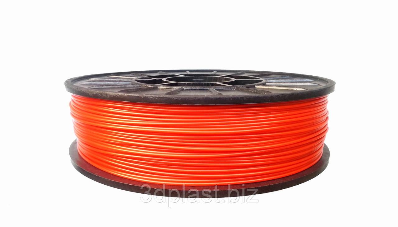 ЭКО CoPET (PETg)  пластик для 3D печати,1.75 мм 0.75 кг, красный