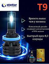 Светодиодные лампы LED STELLAR T9 H4, фото 3