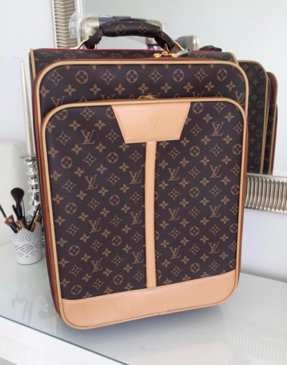 Louis Vuitton чемодан Коричневый