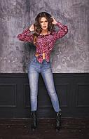 Женская модная рубашка  ВШ1148