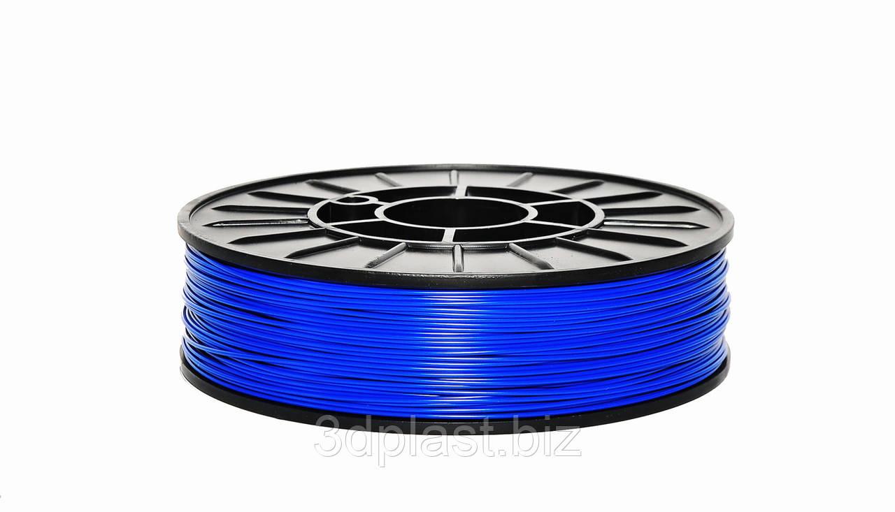 ЭКО CoPET (PETg)  пластик для 3D печати,1.75 мм 0.75 кг, синий