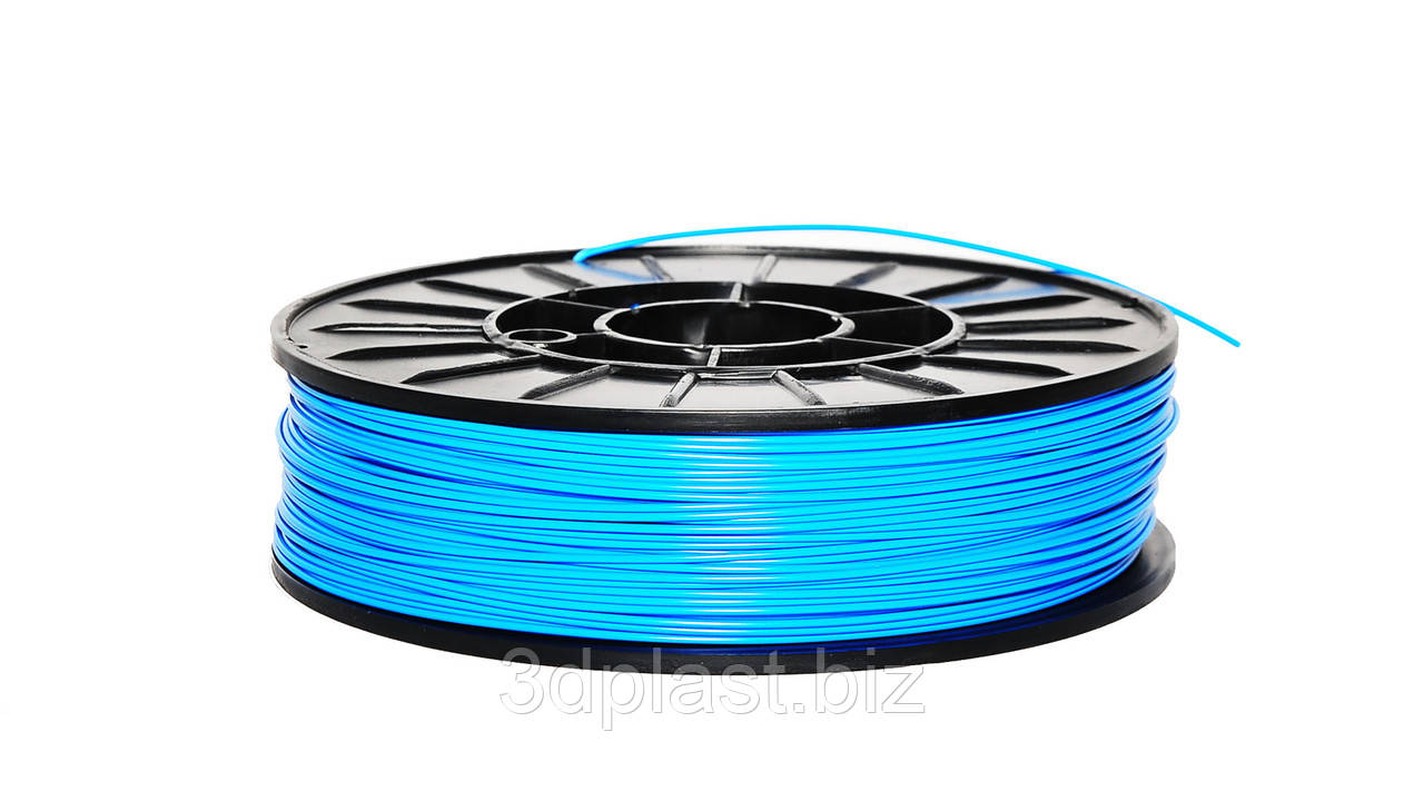 ЭКО CoPET (PETg)  пластик для 3D печати,1.75 мм 0.75 кг, голубой