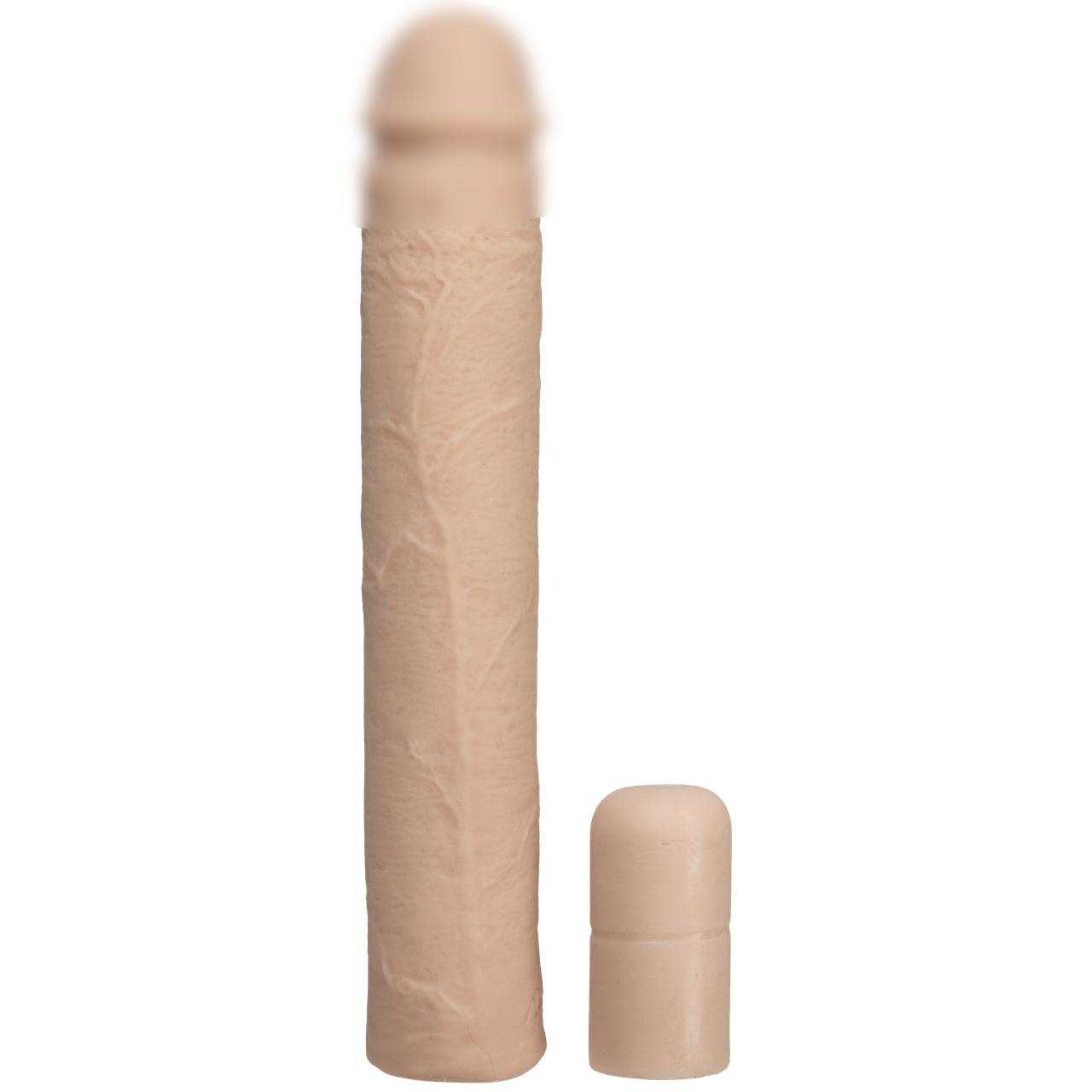 Насадка на член Doc Johnson Xtend It Kit White, удлиняющая (до +7,6 см) и утолщающая (до +1,2 см)