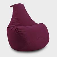Кресло мешок груша Beans Bag Оксфорд 65*85 см, Цвет Бордо