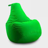 Кресло мешок груша Beans Bag Оксфорд 65*85 см, Цвет Салатовый
