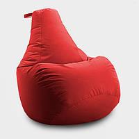 Кресло мешок груша Beans Bag Оксфорд 85*105 см, Цвет Красный