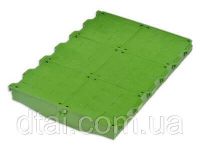 Решетка пластиковая глухая 600х400 мм, ROTECNA