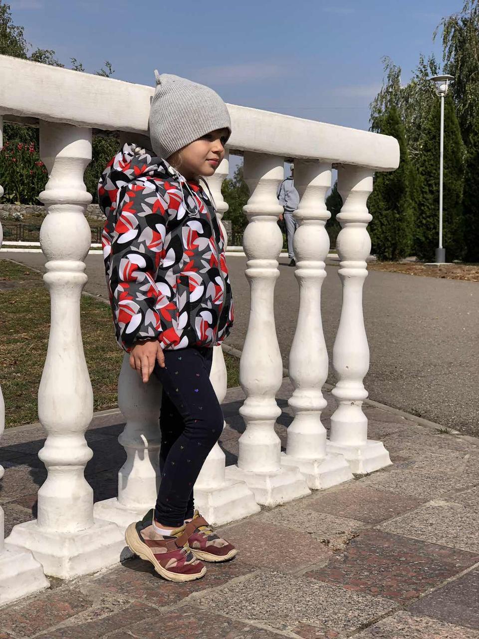 Курточка демисезонная с высококачественной плащевки (не пропускает влагу и ветер)