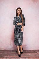 Женское стильное платье  ВШ1139 (норма / бат), фото 1