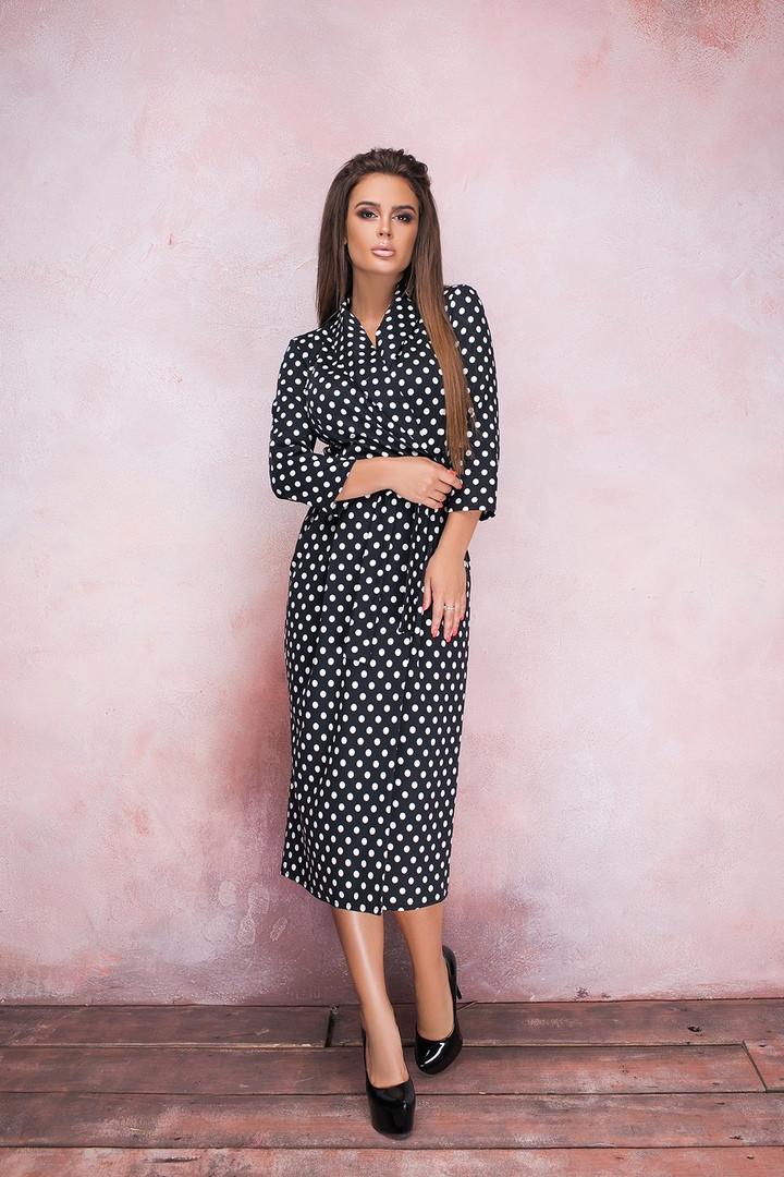 Женское стильное платье  ВШ1139 (норма / бат)