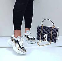 Женские кроссовки Dior в разных цветах., фото 1