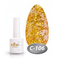 Гель-лак Nice for you Professional 8,5 ml №С106