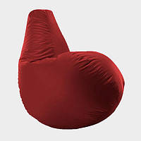 Кресло мешок груша Beans Bag Оксфорд Стандарт 65*85 см Цвет Красный