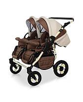 Детская универсальная коляска для двойни 2 в 1 Verdi Twin, фото 2