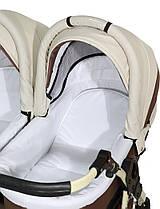 Детская универсальная коляска для двойни 2 в 1 Verdi Twin, фото 3