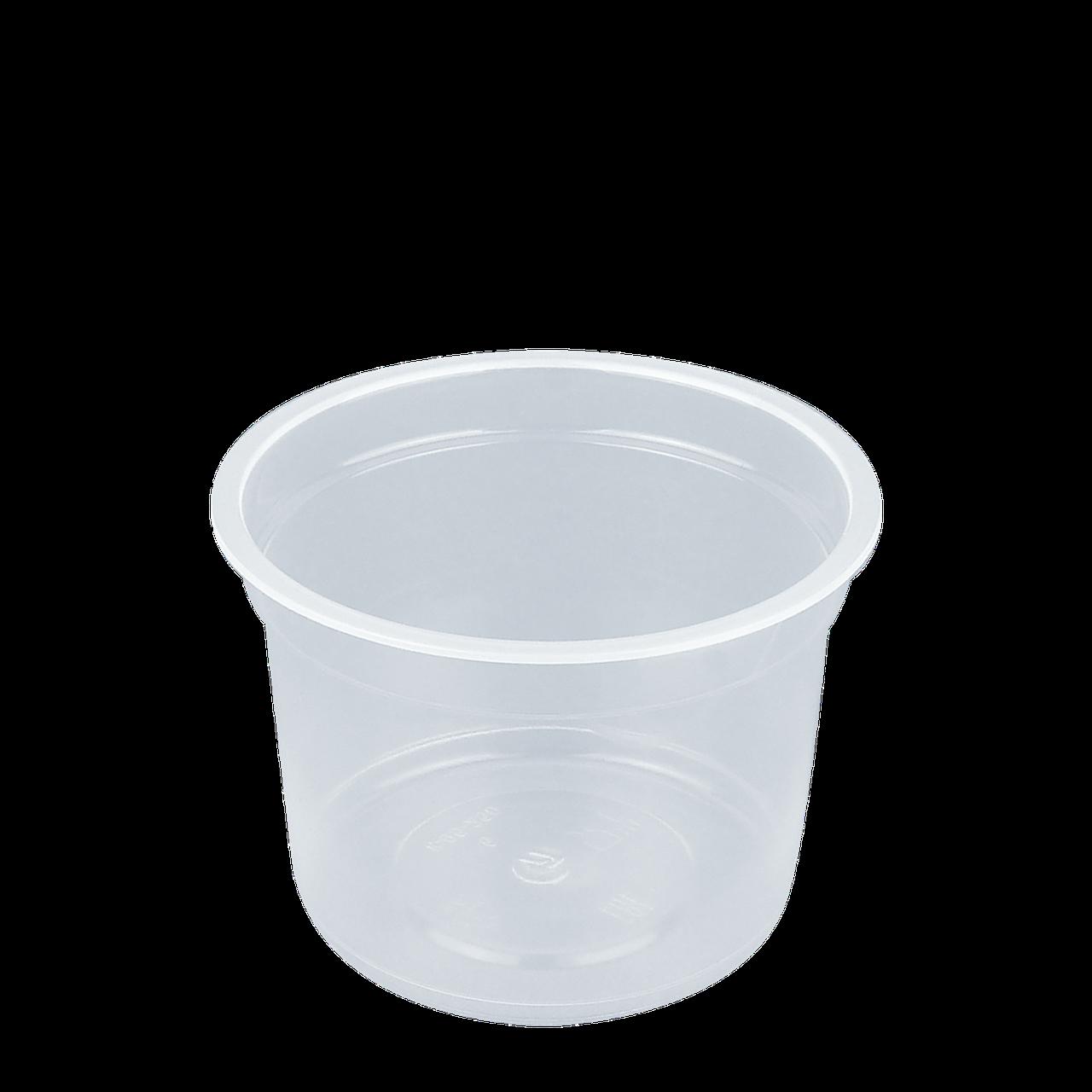 Контейнер прозрачный ПП  250 мл для пищевых продуктов  95-КП(1уп/25 шт)
