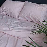 Постільна білизна двоспальне поплін PF064 Персикова пудра Бавовняні традиції, фото 1