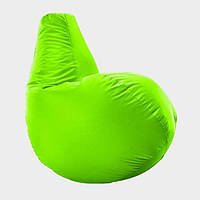 Кресло мешок груша Beans Bag Оксфорд Стандарт 65*85 см Цвет Салатовый