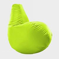 Кресло мешок груша Beans Bag Оксфорд Стандарт 65*85 см Цвет Ярко Желтый