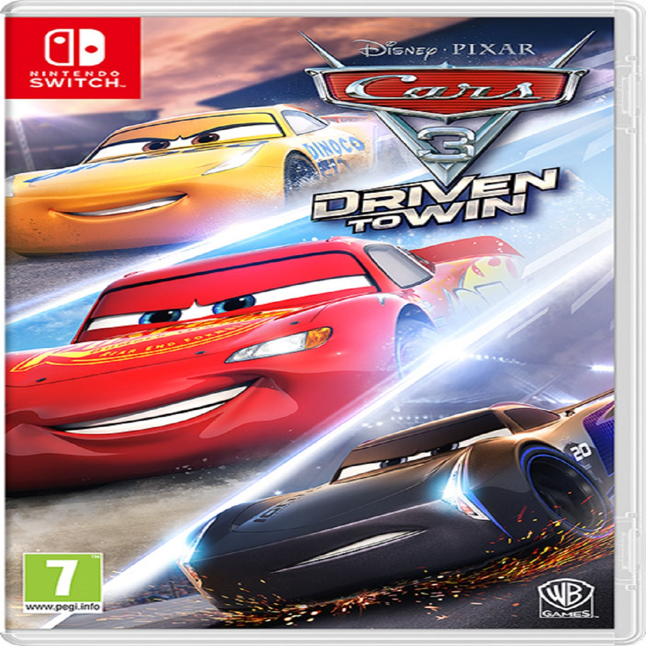 Cars 3: Driven to win RUS Nintendo Switch