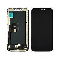 Дисплей для APPLE iPhone XS с чёрным тачскрином (ZY-AMOLED) (ID:22072)