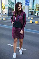 Женская модная туника  ОС915-1 (бат), фото 1