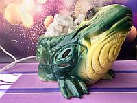 Соляная лампа Лягушка 16*23*14 см, фото 1