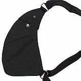 Сумка-мессенджер через плечо 2Life Crossbody 3 Темно-серый (n-411), фото 3