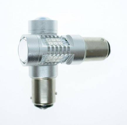 Светодиодная лампа LED 4G21 P21/5W/1157 Красный, фото 2