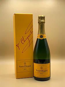 Шампанское Veuve Clicquot Brut Вдова Клико Брют 0.75л