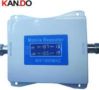 900+1800MHz Усилитель мобильной связи, Репитер Kan.Do 2G4G GSM+DCS  65dB, фото 1