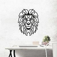 Картина из дерева Lion 40х51 см L1001
