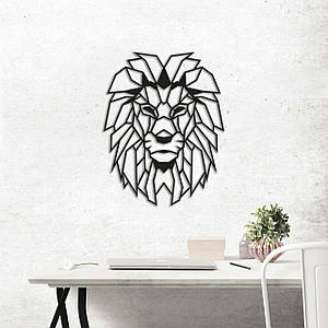 Картина из дерева Decart Lion 40х51 см L1001