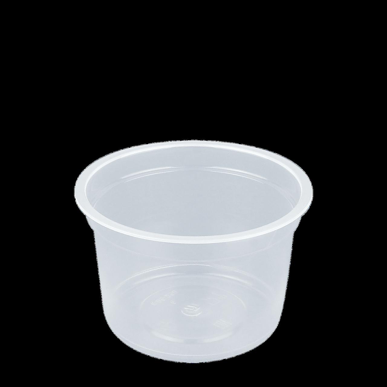 Контейнер прозрачный ПП 200 мл для пищевых продуктов ,95-КП(25 шт в уп.)