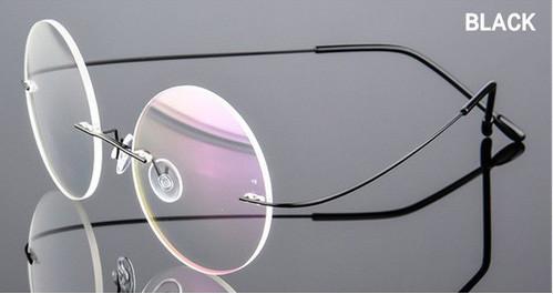 Очки для компьютера круглые безободковые